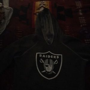 Raiders Hoodie women's size medium